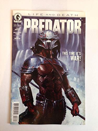 (PREDATOR Life and Death #1, VF+, Horror, 2016, more Dark Horse in store)