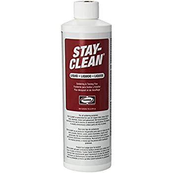 Harris. SCLF16 Stay Clean Soldering Flux, 16 oz. (Limited Edition)