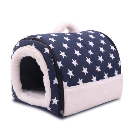 bluee XL bluee XL MSFCL Pet dog bed   Dog bed and cat mattress pet bed, pet bed for joint relief and sleep improvement