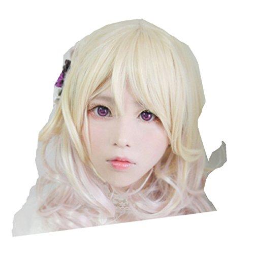 Yui Diabolik Lovers Costume (DIABOLIK LOVERS Yui Komori cosplay costume wig)