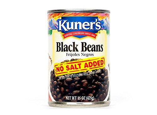 Kuners Bean Black No Salt ()
