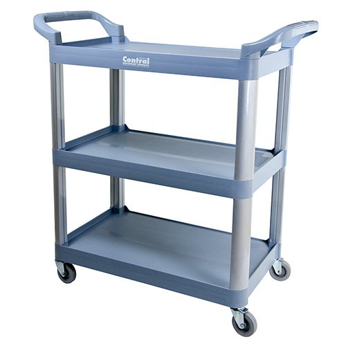 Value Series BC-2416BZ Bussing and Utility Cart - 3 Shelves, (3 Shelf Bus Cart)
