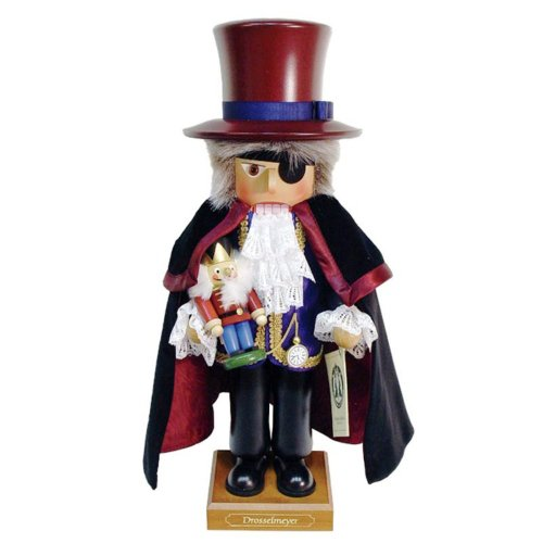 0-321 - Christian Ulbricht Nutcracker - Drosselmeyer - Ltd Edition 5000 pcs - 19''''H x 7.5''''W x 7''''D by Christian Ulbricht