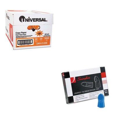 KITSWI54019UNV21200 - Value Kit - Swingline Gripeez Finger Tips (SWI54019) and Universal Copy Paper (UNV21200)
