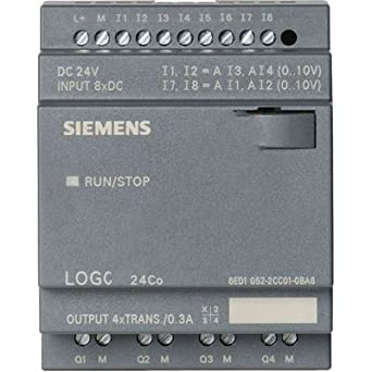 Awesome Siemens 6Ed10522Cc010Ba6 Logo 24O Input Voltage 24 V Dc 8 Di 2 Wiring Cloud Oideiuggs Outletorg