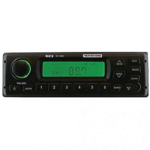 REI Radio ST-1000 AM/FM/WB/AUX Stereo Radio w/D6 Connector Case IH MX110 1644 2388 1666 2344 WDX2302 2166 2188 MX200 2144 WDX1902 MX180 MX120 2377 1680 1660 1688 1682 1670 WDX1202 1640 1620 2366 ()