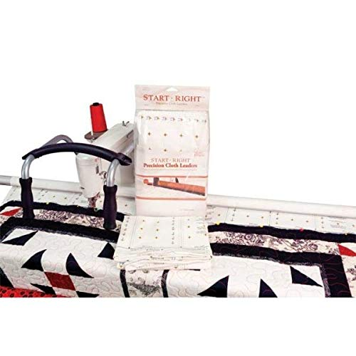 Grace Start Right 112 Inch Cloth Leaders for Machine or Hand Quilting - Framing Quilting Frames