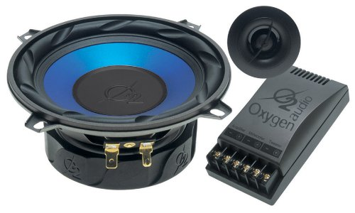 Oxygen Audio Air2-5 5.25 inch. Component System, 2 Way, 120 Watts RMS (O2 Air2-5)