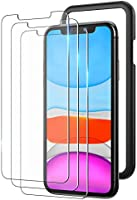 YOUMAKER Compatible with iPhone 11 Screen Protector, iPhone XR Screen Protector, Case Friendly with Easy Installation...