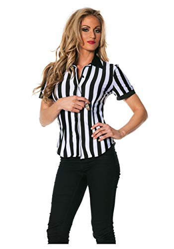 Women's Plus Size Referee Shirt - 2X for $<!--$17.39-->