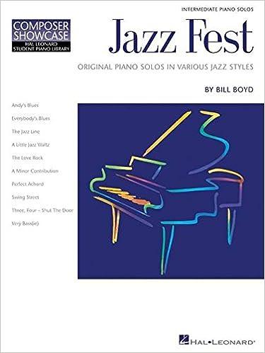 Book Bill Boyd Jazz Fest Pf: Jazz Fest Piano