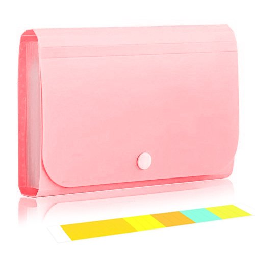 Deluxe Extreme Expandable File Folder Coupon Organizer