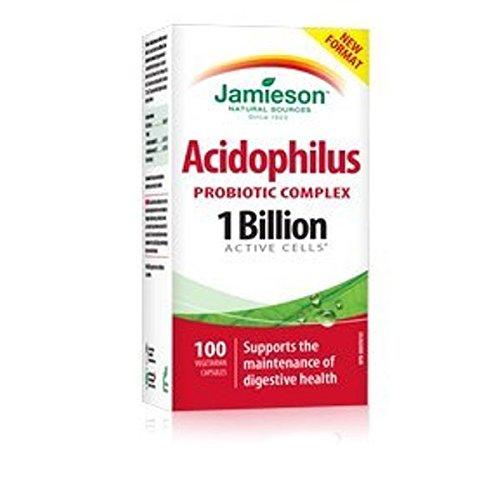 Jamieson Acidophilus Probiotic Complex 1 billion active cells, 100 Caplets