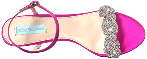 Harlo Fuchsia Heeled Women's Blue Sandal Betsey by Sb Johnson wqz1XP8H
