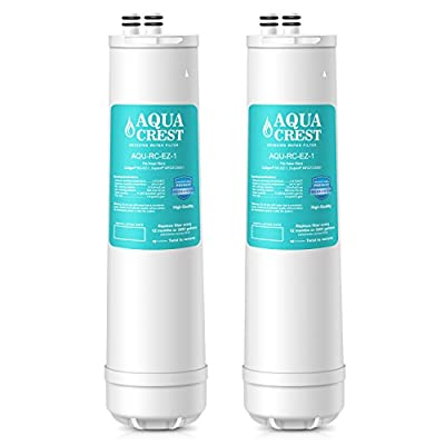 AQUACREST Replacement for Culligan RC-EZ-1, US-EZ-1, RV-EZ-1, Brita USF-201, USF-202, DuPont WFQTC30001, WFQTC70001 Water Filter, 3,000 Gallons(Pack of 2)