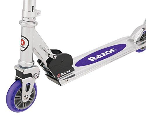 41WMZ5zKbwL - Razor A2 Kick Scooter (Purple)
