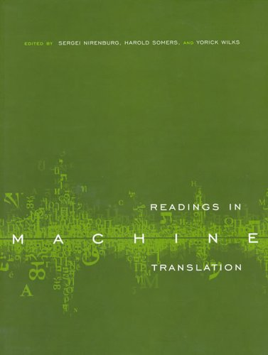 Readings in Machine Translation by A Bradford Book