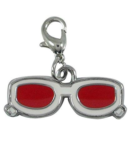 Charm Lunettes rouges par Charming Charms