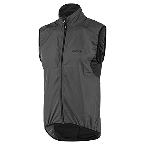Louis Garneau Nova Men's Vest: Asphalt Gray XL