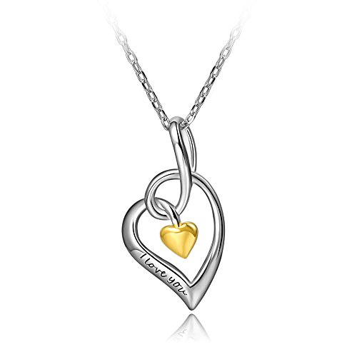 Sterling Silver Pendant Necklace Zirconia