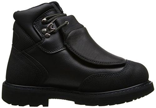 6 Eu Met Pro40000 Negro Hombre Con Color Guard Toe Steel Sandalias Timberland Cuña Talla 44 HxnUaRSHw