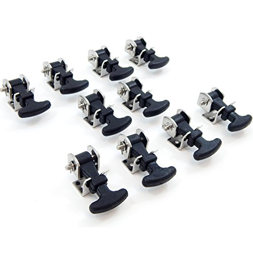 - 10 Pack Rubber Hood Catch Hold-Down Kit 2.5