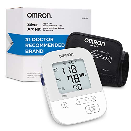 Omron Silver Blood Pressure