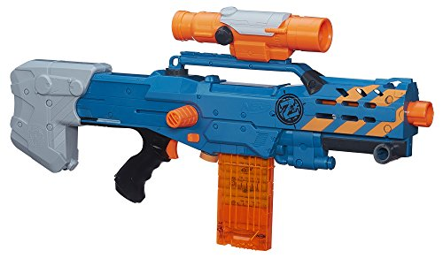 NERF Zombie Strike ZED Squad Longshot CS-12 Blaster (Best Lever Action Rifle 2019)