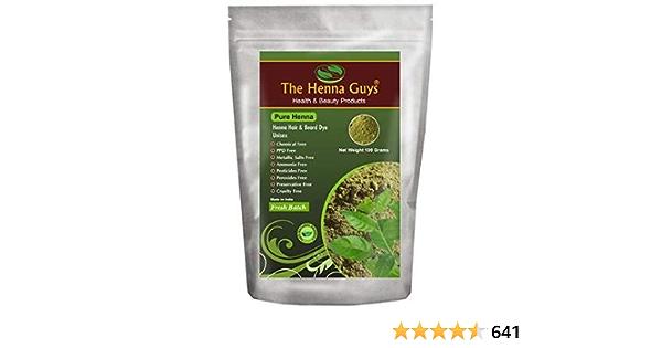 The Henna Guys® - Henna en polvo para tinte de cabello