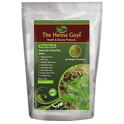 100% Pure & Natural Henna Powder For Hair Dye/Color 1 Pack - The Henna Guys from The Henna Guys