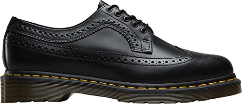 Dr. Martens Unisex Adulto-3989 Brogue Stringati Brogue Noir