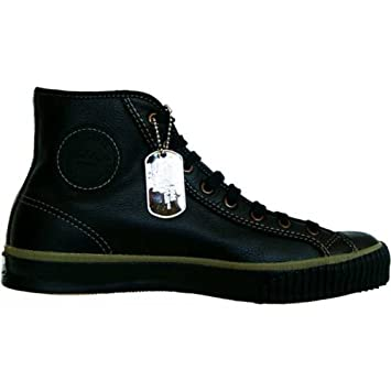 Converse All Star Leder Piloten Chucks Schwarz Black Leather