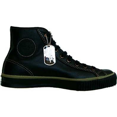 Star Leder Black Converse All Piloten Leather Schwarz Hi Chucks wkP8n0XO