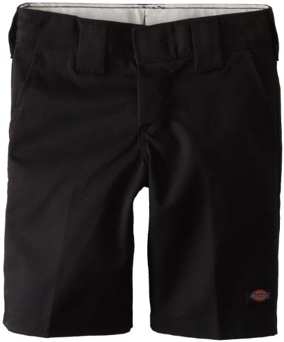 Dickies Little Boys' Short With Extra Pocket, Black, 5 Dickies Boys Work Short