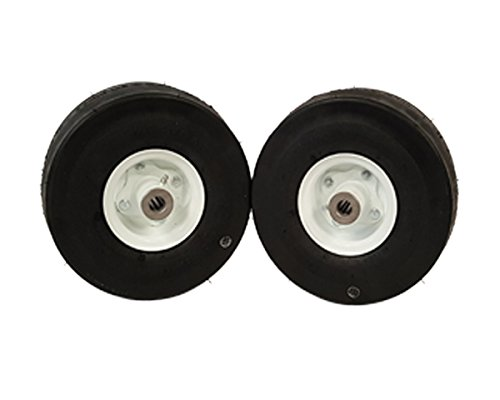 (2) Encore Wheel and Tire Assemblies 410/350-4 for Walk Behind deck sizes 32
