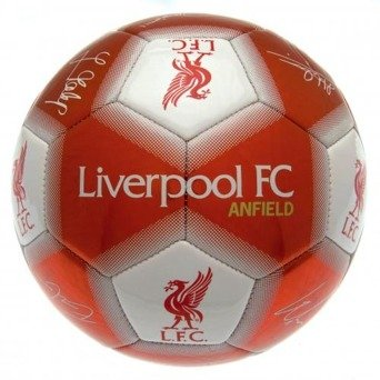Liverpool F.C. Football Signature Red Soccer Ball
