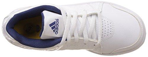 adidas Real Lk Trainer 7 K, Zapatillas de Deporte para Niños Blanco (Ftwbla / Ftwbla / Mornat)