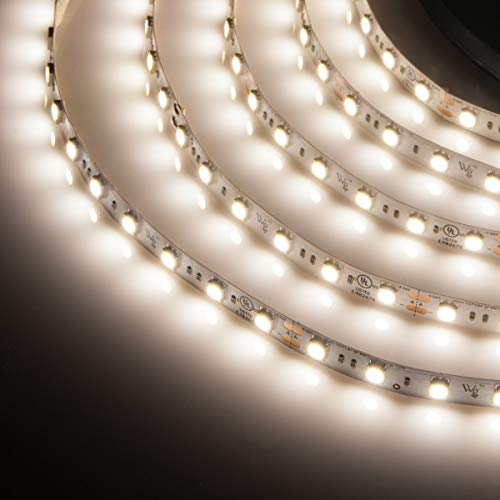 LED Strip Light Dimmable LED Flexible Light Strip, Home LED Light Strip Cuttable (4000K Pure White, 24V High Output, 20 Ft Spool)