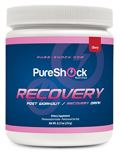 Pure Shock Recovery (Cherry) -- Pharmaceutical Grade Nutrition | Neurotransmitter Balance, Stress Resiliency, Post Workout, GABA, Inositol, Taurine, Magnesium