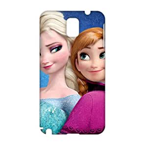 Angl 3D Case Cover cartoon Frozen Phone Case for Samsung Galaxy Note3