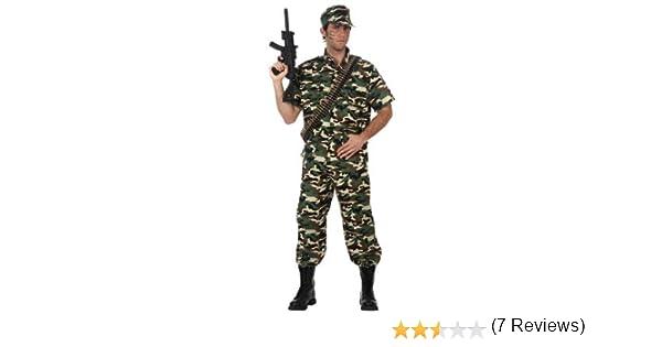 Atosa-10590 Disfraz Militar, color verde, M-L (10590): Amazon.es ...
