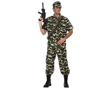 Atosa-10591 Disfraz Militar, color verde, XL (10591): Amazon.es ...