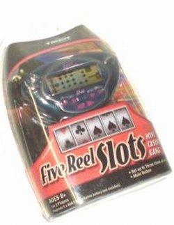 (Hasbro Five Reel Slots Mini Casino Game)