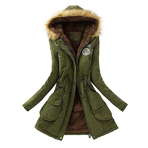 Vender Caliente Larga Con Invierno De Army 2018 Riou Capucha Cuello Mujeres Chaqueta Green Encapuchado Outwear Mejor Piel Del Las Casual Abrigo Parka v7tnwfBq