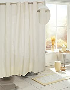 Royal Bath Easy On No Hooks Needed Peva Non Toxic Shower Curtain Liner 70 X 72
