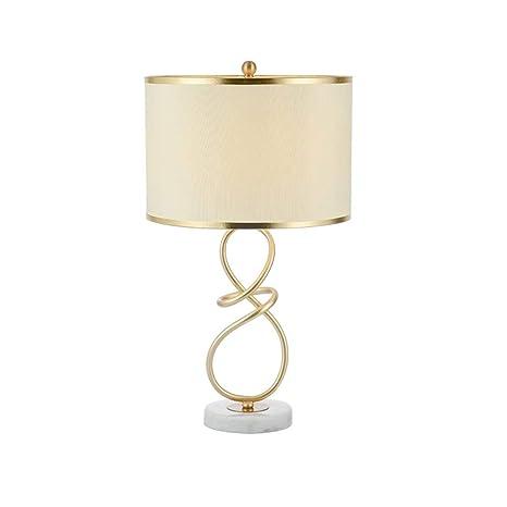 Moderna y creativa lámpara de mesa de hierro forjado, sala ...