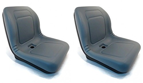 ((2) HIGH BACK SEATS for Toro Workman MD HD 2100 2300 4300 UTV Utility Vehicle by The ROP Shop)