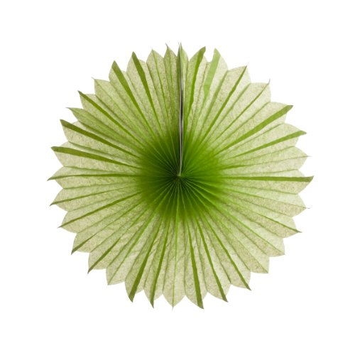 Koyal Paper Pinwheels, 10-Inch, Lime Green, Set of 6