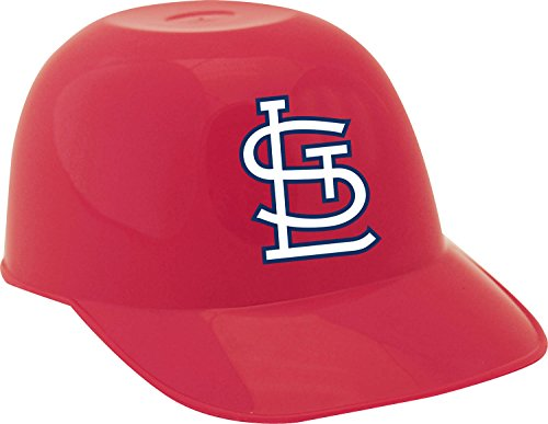 Jarden Sports Licensing MLB St. Louis Cardinals Mini Baseball Helmet Snack Bowl, 8 oz, Red (St Louis Cardinals Birthday)