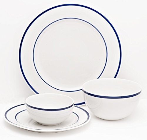 Country Blue Salad Plate - 6